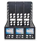 Het plastic Dienblad van het Dossier met 3 Kolommen voor de Opslag van de Dossiers van het Bureau
