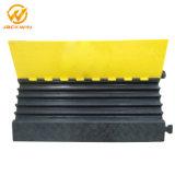 5 canales de cable de la rampa de caucho protector para la Seguridad del Tráfico