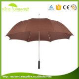 Wohler Förderung-Qualität Sun-Beweis Arbeitsweg-gerader Regenschirm-kundenspezifisches Firmenzeichen-Drucken