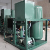 La refinería de continuo de la planta de Aceite de Turbina