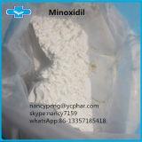 Minoxidil de poudre de traitement de perte des cheveux traitant l'alopécie mâle 38304-91-5 de configuration