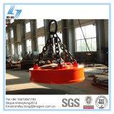 Tipo oval eletro tirante magnético para sucatas de levantamento