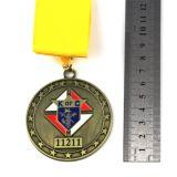 La venta al por mayor fundió la aduana a troquel que hacía la medalla de los deportes del metal de las concesiones