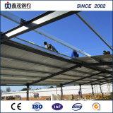 Stahlkonstruktion-Flugzeug-Hangars für Geflügel-Haus mit Platz-Rahmen-Rohr-Binder-Dächern