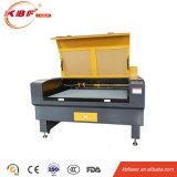 No Metal Cerrado cuero / madera / acrílico / papel / tela de CO2 máquina de grabado láser