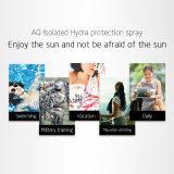Proteção de Hydra isoladas de spray de protecção solar