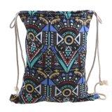 Горячая продажа рекламных Canvas рюкзак женщин специальный мешочек