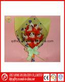 Bouquet de Flores Ursinho de Pelúcia para o Dia dos Namorados