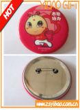Kundenspezifisches Drucken-Firmenzeichen-Zinn-Tasten-Abzeichen mit sicherem Pin (YB-BT-07)