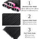 卸し売りねじれた巻き毛のブラジルのバージンの毛の織り方