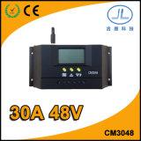 30A 48V LCD Solarladung-Controller der Bildschirmanzeige-PWM