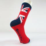 Изготовленный на заказ носок жаккарда хлопка в различных конструкциях и размерах