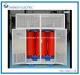 1250kVA en fonte de l'isolement de la résine de type sec de transformateur haute tension