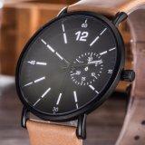 Relojes de encargo de la manera del reloj del cuarzo de las mujeres de la insignia para las señoras (WY-17012D)