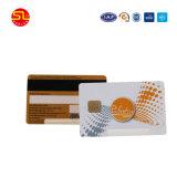 PVC FM4442 칩을%s 가진 공백 자석 줄무늬 카드