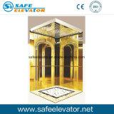 青銅によって着色されるステンレス鋼のエッチングの乗客のエレベーター