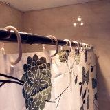 Занавес ливня хризантемы PEVA для ванной комнаты