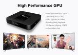 Contenitore più poco costoso Tx3 di Android 7.1 TV della ROM di RAM 16GB di memoria 1/2GB del quadrato di Amlogic S905W di nuovo arrivo mini