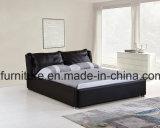 Modularer Schlafzimmer-Set-Gasheber-Doppelt-Leder-Bett-Rahmen