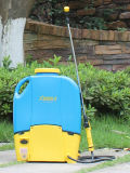 16L тележка сад с колесами опрыскивателя аккумуляторной батареи