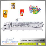 Horizontal Automatic Form Yarn Seal Cooked Rice Food Doypack Pouch Bag Filling Packing Equipment Machine