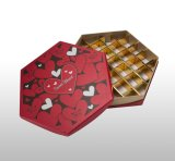 고품질 주문을 받아서 만들어진 마분지 초콜렛 선물 수송용 포장 상자 저장 상자 과자 상자