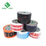 Professional Leters resistente al agua Información de la empresa y la venta caliente BOPP impresa cinta de embalaje