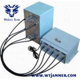 옥외 방수 조정가능한 고성능 전화 GSM CDMA WiFi 3G 4G 신호 형무소 방해기