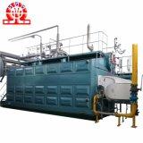 China-Fabrik-Zubehör-horizontale doppelte Trommel-industrieller Warmwasserspeicher