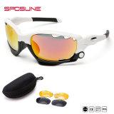 Venda por grosso de moda nova Bike Sport Óculos Men Cool da marca no exterior UV400 Andamento óculos de sol para homens