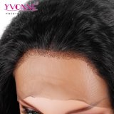 신식 인간적인 Virgin 중국 머리 360 레이스 정면 가발 비꼬인 똑바른
