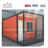 Casa prefabricada del envase móvil para el pequeño departamento (casa del envase)