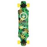 """O bordo cheio de Longboard do skate fêz 36*9 verde """" C001-1"""