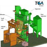 Gummiriemen-Granaliengebläse-Maschinen