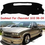 Tampa do Painel do carro Dashmat tapete de painel de bordo para 1998-2004 Chevrolet S10 Preto