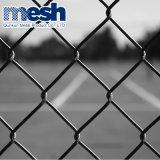 Rete fissa rivestita di collegamento Chain della rete metallica di obbligazione del PVC