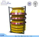 Le broyeur de cône de Metso HP500 d'acier de manganèse partie le manteau et concave élevés