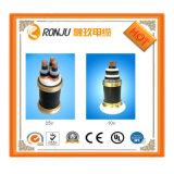 Cable de transmisión acorazado de 4 bases del cable del voltaje de la baja tensión del alto voltaje de transmisión media del PVC o de XLPE Yjv Yjlv Yjy Yjly Yjlw
