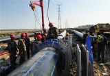 Großes Rohr der Größen-HDPE/PE für Wasser-System/Wasserversorgung/Wasser-Entwässerung