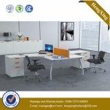 Partition en bois en verre en aluminium moderne de poste de travail/bureau de compartiment (HX-NJ5069)