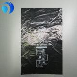 Sacchetti di plastica di Poop del cane nero dell'HDPE su rullo
