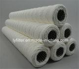 Cartuccia di filtro bianca naturale dall'acqua della ferita della stringa del cotone con la memoria dell'acciaio inossidabile