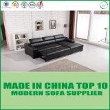 Самомоднейшая кровать софы кожи мебели с хранением