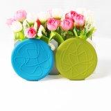 Tapis en silicone/silicone coupe du tapis de table/tapis de cuisson en silicone avec&square de forme ronde