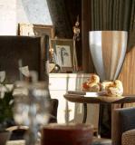 Lampe de bureau en verre élégante européenne moderne (MT10872-1-360)