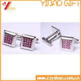 2015 moda Cufflink Rosa para regalo promocional (YB-cUL-02)