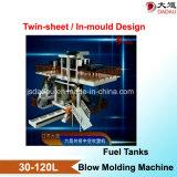 máquina de molde Multi-Layer in-Mould do sopro da co-extrusão para os depósitos de gasolina