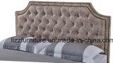 Мебель спальни леопарда классической кожаный кровати современная