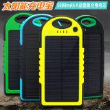 Côté mobile portatif 5000mAh de pouvoir de 2017 produits solaires