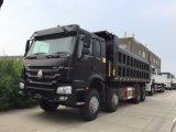 HOWO Sinotruck 371 8X4 무거운 덤프 트럭 팁 주는 사람 트럭 50 톤